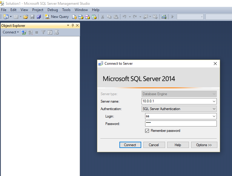Cannot Connect to the SQL Server or Logon Failed - Jiwa 7